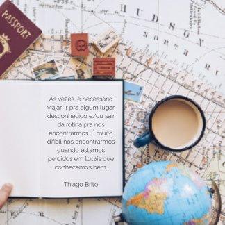 viajar é necessario